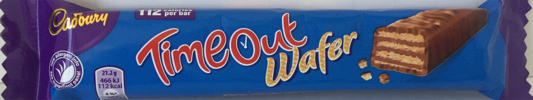 Cadbury Timeout Wafer Bar 20g