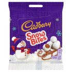 Cadbury Snow Bites Bag 90g Christmas