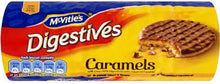 McVities Digestive Milk Caramel Roll 300g