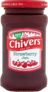 Chivers Strawberry Jam 340g