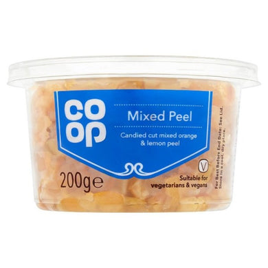 Co op Mixed Peel 200g -
