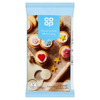 Co op Ready to Roll White Icing 500g - Christmas