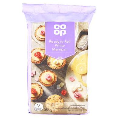 Co op White Marzipan 500g - Christmas