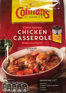 Colmans Chicken Casserole Seasoning Mix