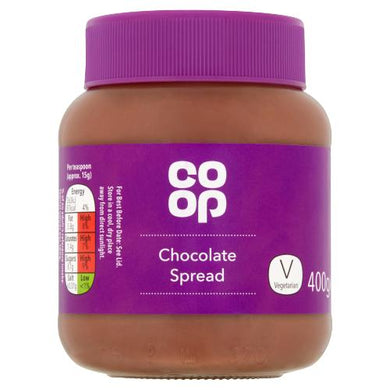 Co op Chocolate Spread 400g
