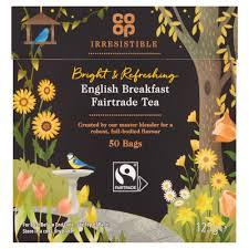 Co op Fairtrade English Breakfast 50 teabags