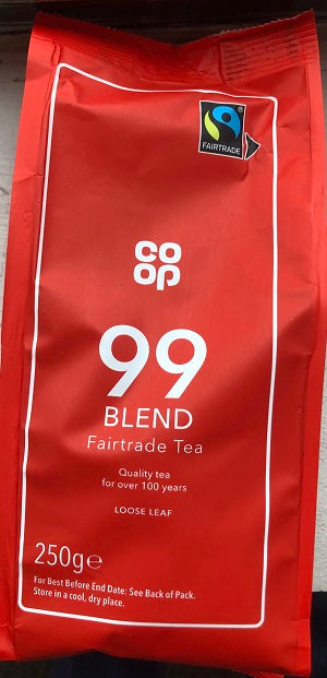 Co op Fairtrade 99 Blend Loose Tea 250g