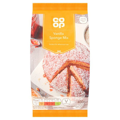 Co op Vanilla Sponge Mix 400g