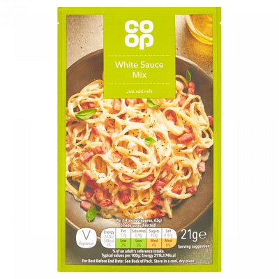 Co op White Sauce mix