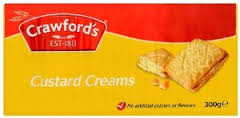 Crawfords Custard Creams Biscuit 150g