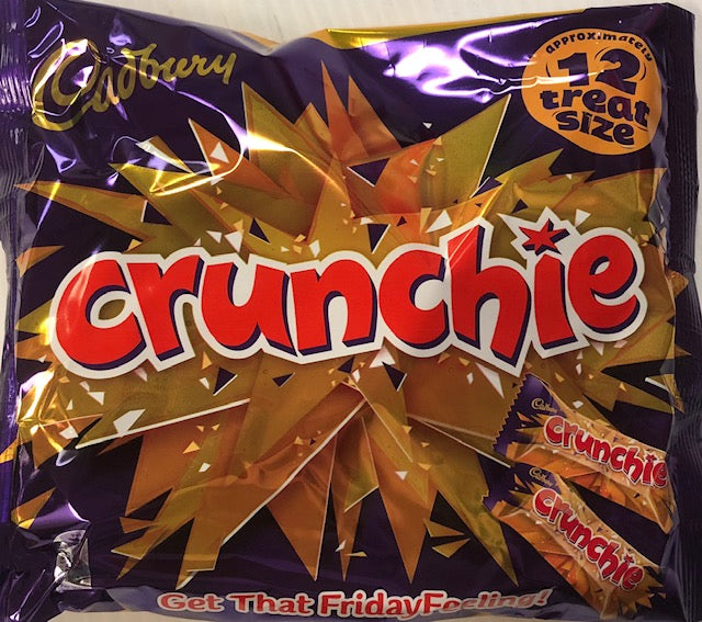 Cadbury Crunchie Treatsize Bag 210g