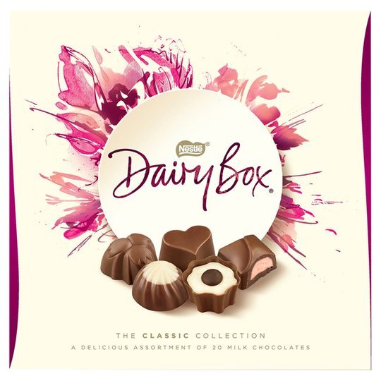 Nestle Dairy Box Chocolates Carton 180g