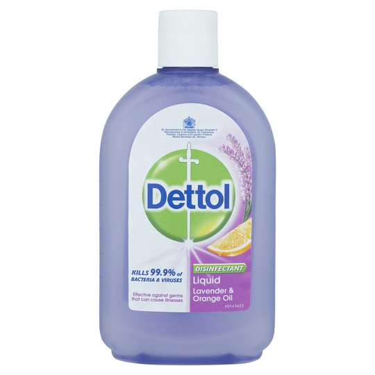 Dettol Lavender & Orange Oil 500ml