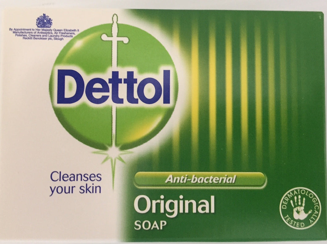 Dettol Original Antibacterial Soap Bar