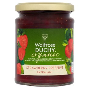 Duchy Organic Strawberry Preserve 340g