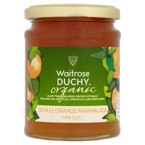 Duchy Organic Thin Cut Seville Orange Marmalade 340g