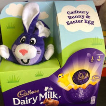 Cadbury Dairy Milk Plush Bunny & Easter Egg - FRAGILE