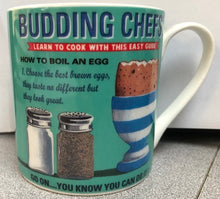 Mug with How to Boil an Egg Design - Budding Chefs - giftware