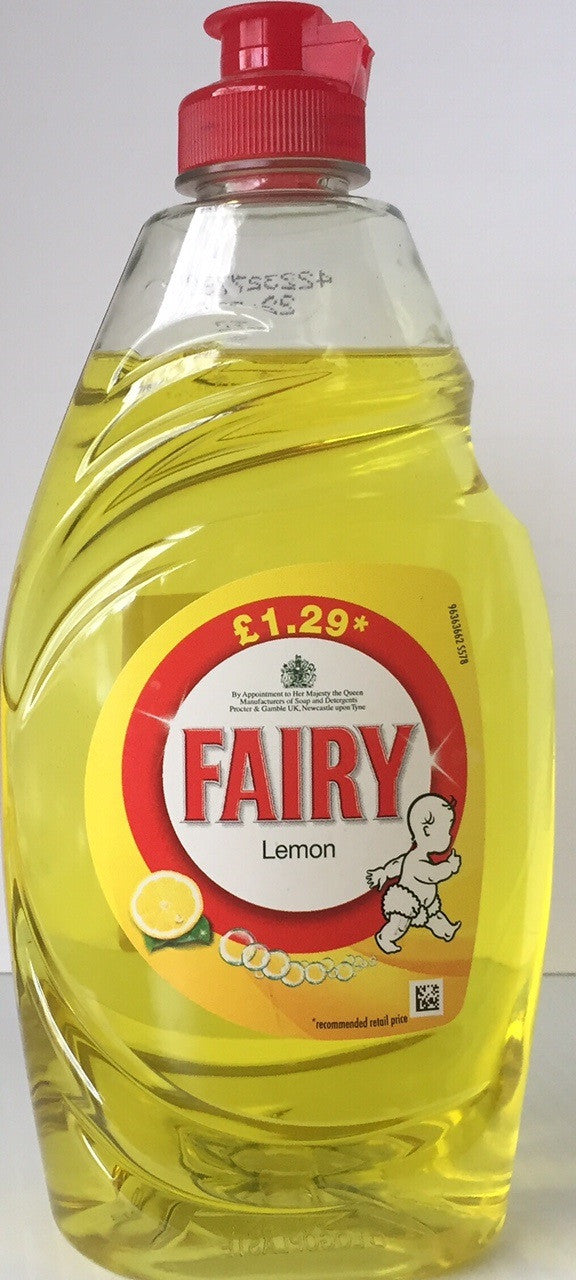 Fairy Liquid Soap Lemon  433ml