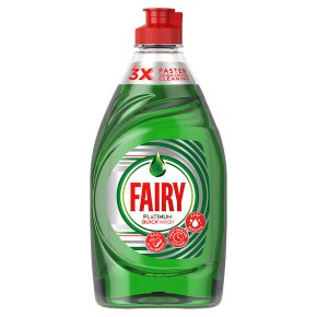 Fairy Platinum Quick Soap Washing up Liquid 383ml