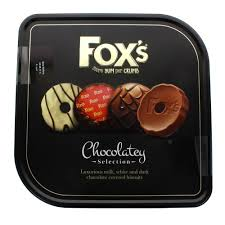 Foxs Chocolatey Biscuit Tin 365g