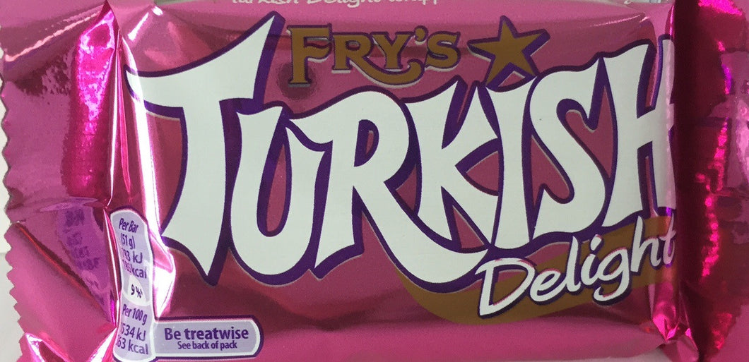 Frys Turkish Delight bar