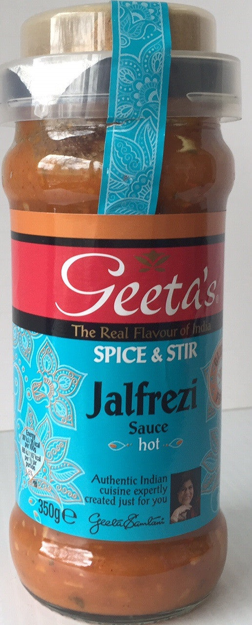 Geeta Jalfrezi Spice and Stir Sauce  350g