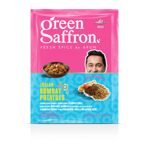 Green Saffron Indian Bombay Potatoes Spice Packet 25g