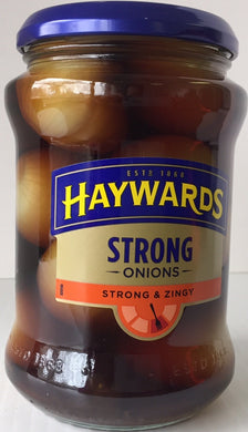 Haywards Strong & Zingy Pickled Onions 400g