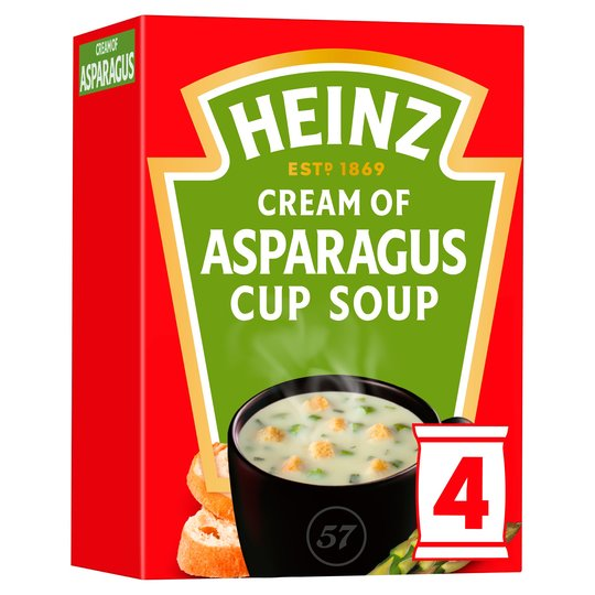 Heinz Cream of Asparagus Cup a Soup (4x22g)