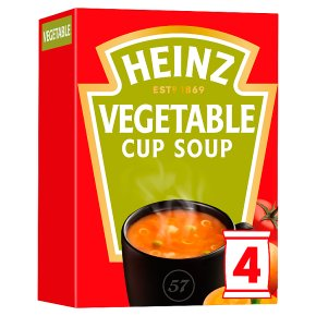 Heinz Vegetable Cup a Soup (4x17g)