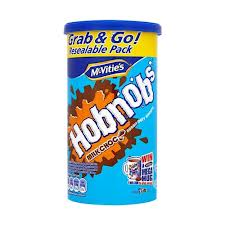 Mcvities HobNobs Milk Chocolate Biscuit Tube