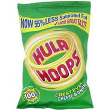 KP Hula Hoops Crisps Cheese and onion  x 6 packs
