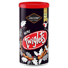 Jacobs Mini Twiglets Caddy 200g -