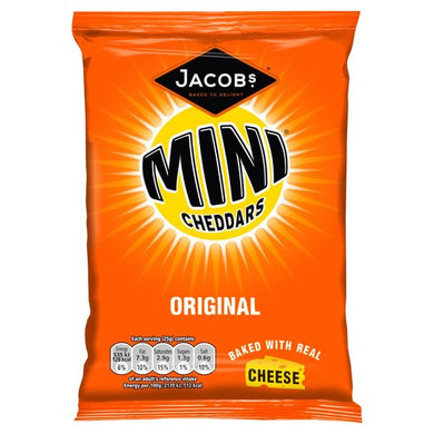 Jacobs Mini Cheddars 50g Bag