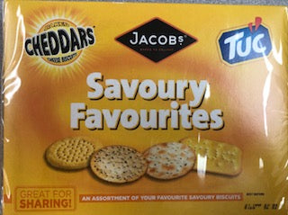 Jacobs Savoury Favourites Cracker Assortment 200g
