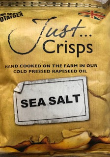 Just Crisps Sea Salt Crisps - Potato Chip 40g