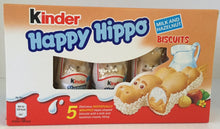 Kinder Happy Hippo Biscuit 5pk
