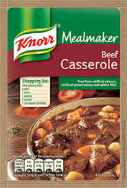 Knorr Beef Casserole Recipe Mix