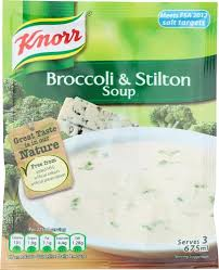 Knorr Broccoli & Stilton Soup Mix  60g