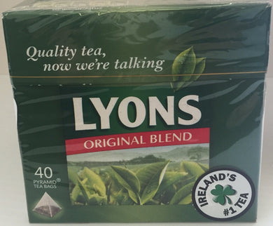 Lyons Original Blend Teabags 40ct