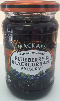 Mackays Blueberry & Blackcurrant Preserve 120oz