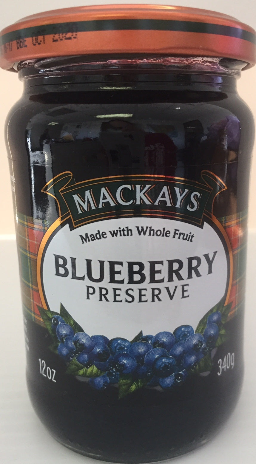 Mackays Blueberry Preserve 12oz
