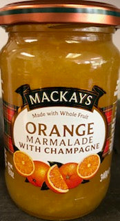 Mackays Orange & Champagne Marmalade