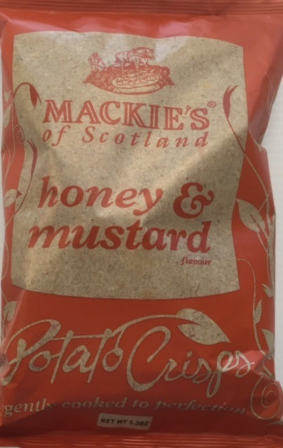 Mackie's of Scotland Honey & Mustard Crisps 5.3oz