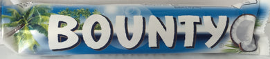 Bounty Milk Chocolate Bar (blue) 57g