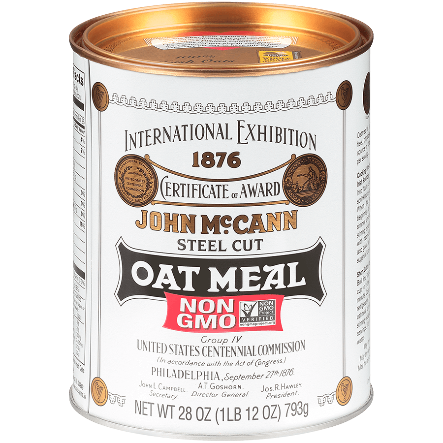 McCann's Steel Cut Oatmeal Tin 28oz