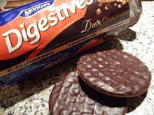 McVities Digestive Dark Chocolate Roll 300g