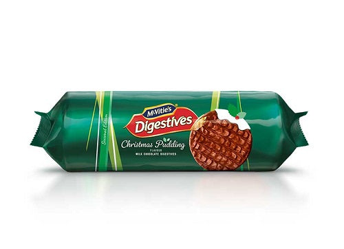 Mcvities Christms Pudding Digestive Biscuit 250g - Christmas