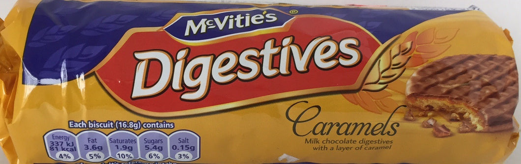McVities Digestive Milk Caramel Roll